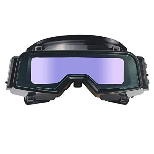 Protección para los Ojos Oscurecimiento automático Antideslumbrante Gafas de soldar Profesionales TIG MIG