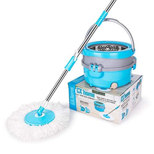 360 gradi Magic Mop Twist strizzare rotante aspirapolvere in microfibra pulizia del pavimento