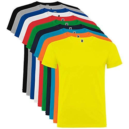 Pack de 10 Camisetas de Manga Corta para Hombre, 100% Algodón, Beagle (XXL)