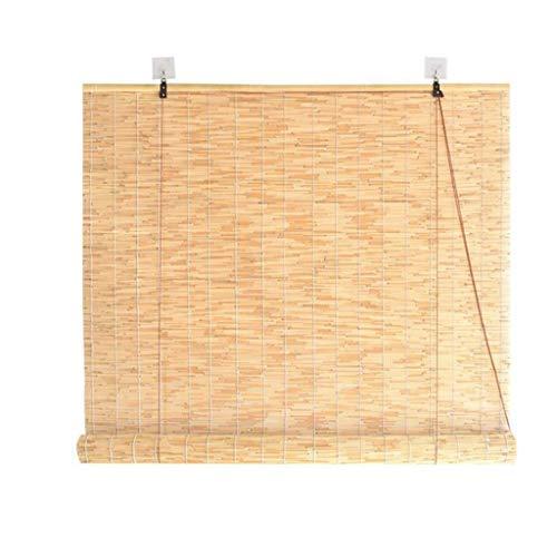 SU-AMEI Persianas enrollables Exterior, Cortinas de bambú for Puertas, persianas Opacas Verticales for Puertas, Patio Exterior, galería, balcón, persianas enrollables (Size : 100 * 200cm)