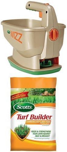 Max 63% OFF Scotts Wizz Spreader Summerguard Cheap Food Lawn Bundle