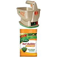 Scotts Wizz 6.25-lb Broadcast Spreader Bundle + Summerguard Lawn Food
