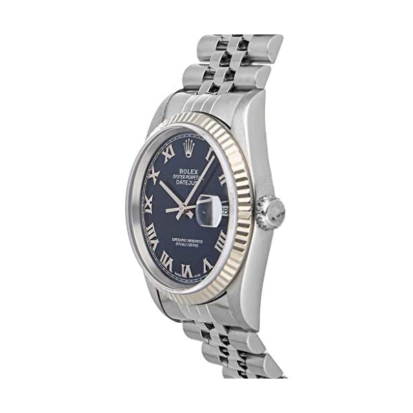 Fashion Shopping Rolex Datejust Mechanical (Automatic) Blue Dial Mens Watch 16234 (Pre-Owned)