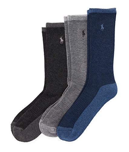 Ralph Lauren Herren Socken Einheitsgröße Gr. Einheitsgröße, Denim Heather