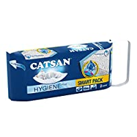 Catsan Smart Pack is a good choice for you and your feline friend, thanks to its convenient and efficient pre-filled hygienic cat litter packs for your cat toilet Each granule of Catsan Smart Pack Cat Litter ensures reliable and long lasting odour co...
