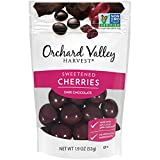 ORCHARD VALLEY HARVEST Dark Chocolate Cherries, 1.9 oz (Pack of 14), Non-GMO, No Artificial Ingredients
