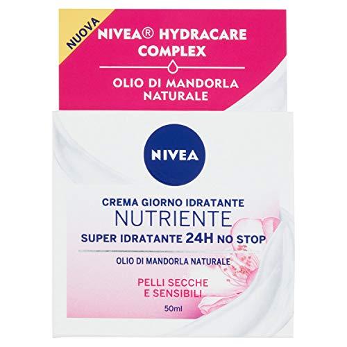 Nivea Crema Idratante Intensiva per Pelle Secche e Sensibili - 50 ml
