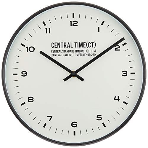 インターフォルム 電波掛け時計 セントラルタイム