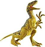 Jurassic World Velociraptor Delta, Figura Dinosaurio de Juguete niños +3 años, Multicolor (Mattel GCR46)
