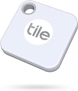 Tile Mate (2020) Bluetooth key finder, 1-pack, bereik 60m, tot 1 jaar batterijduur, incl. zoekopdracht met behulp van de c...