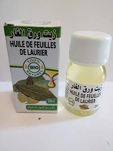 Spedito in 24H- 100% BIO NATURAL- Olio Di Alloro Pure - Marocco 30ml