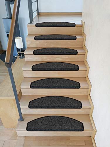 Kettelservice-Metzker Stufenmatten Rambo Halbrund - Anthrazit (15er Set Halbrund)