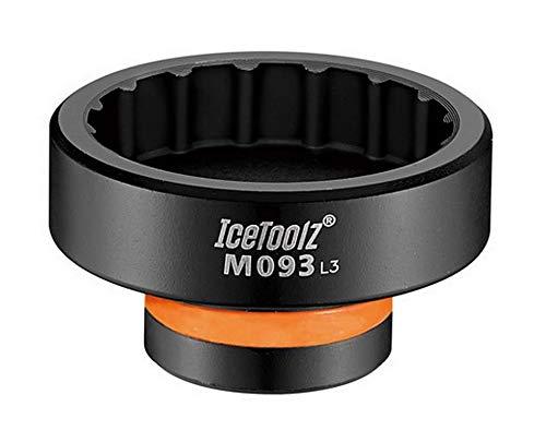 IceToolz Llave démonte Caja Pro Shimano bbr60Unisex, Gris