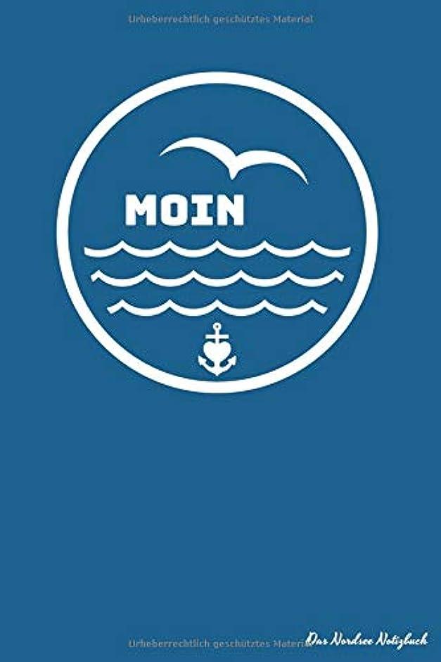 勇敢な泣いている最後にMOIN Das Nordsee Notizbuch: Notizheft | kariert 108 Seiten | Dokumentation, Noizen Beruf, Urlaub, Sport und Hobby | Journal