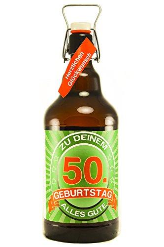 SünGross Riesenbierflasche XXL-Bierflasche zum 50. Geburtstag
