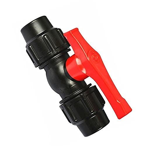 Válvula De Bola, Válvula De Plástico De Globo De Agua De Agua, Accesorios De La Válvula De Bola De La Tubería De Conexión, Válvula De Aislamiento De 1 PCS (Size : 50mm)