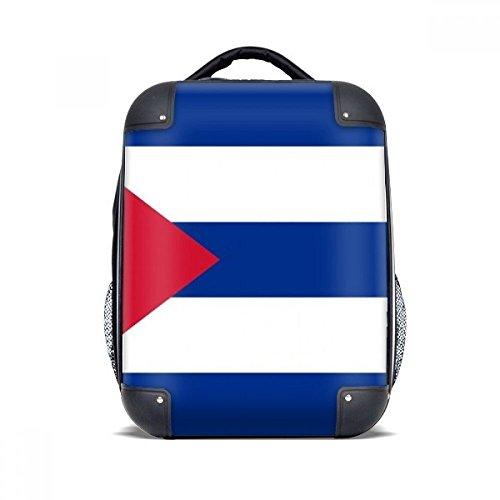 DIYthinker Kuba Nationalflagge Nordamerika Land Hard Case Schultertrage Kinder Rucksack Geschenk 15