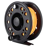 Nimoa Fishing Reel Fly Fishing Reel Wheel with Line - for Left/Right Hand