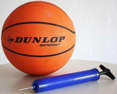 Dunlop Sport Basketball Ball,Spielball,NBA,Grösse 7