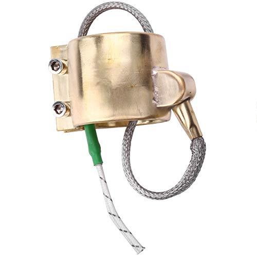 TOOGOO Riscaldante Elettrico nel Rame per Riscaldatore un Fascia nel Ottone 40X40M 220V 220W