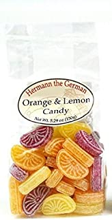 Hermann the German Orange & Lemon Hard Candy 150g (5.29oz)