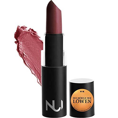 NUI Cosmetics Naturkosmetik vegan natürlich glutenfrei - Natural Lipstick AKONA Lippenstift mit beerigem Rotem Farbton