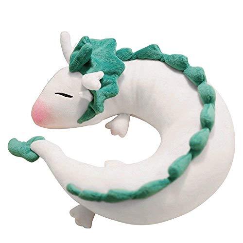 Dragon U NackenKissen - Dragon Plush Doll Plüschtier Anime Cute White Dragon