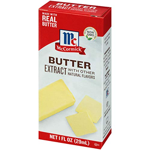 McCormick Butter Extract With Other Natural Flavors, 1 fl oz, (pack of 6)