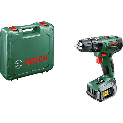 BOSCH 06039A3376 PSB 1800 LI-2 (1x 1.5Ah) Cordless Hammer Drill, Green