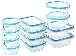 reusable glass storage containers