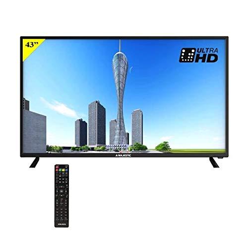 Televisore LCD Majestic LED TV TVD-243 S2 UHD MP01: Amazon.es: Electrónica