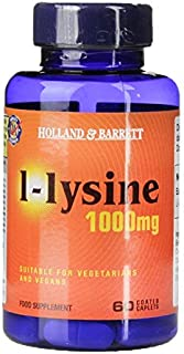 Holland & Barrett L-lysine Caplets, 1000mg, 60 count