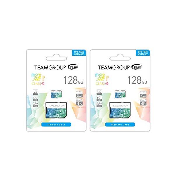 Flash Card Micro de sd128gb Team coloru31A
