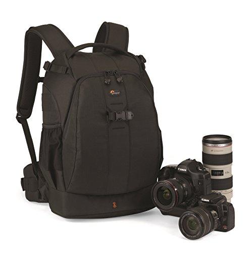 Lowepro Flipside 400 AW SLR-Kamerarucksack (für SLR mit aufgesetztem 300-mm-Objektiv und bis zu 6 zusätzlichen Objektiven) schwarz