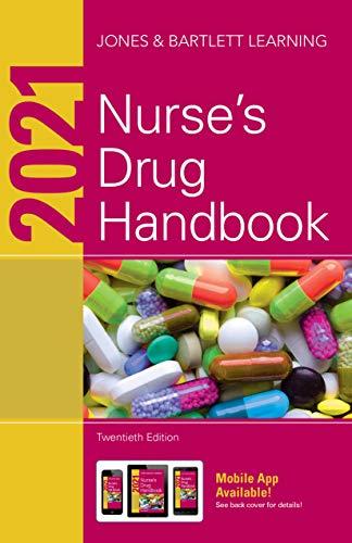 41+H0O7wCLL - 2021 Nurse's Drug Handbook