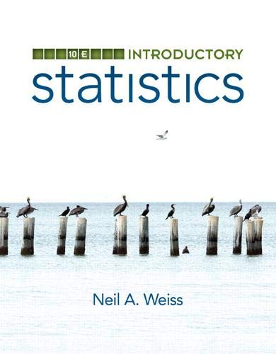Introductory Statistics (10th Edition)