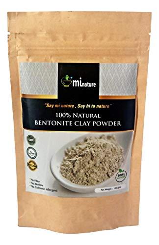Arcilla en polvo Fullers Earth-Bentonite 100% natural – grado de exportación sin aditivos 100 g compra 2 ahorra un 20%