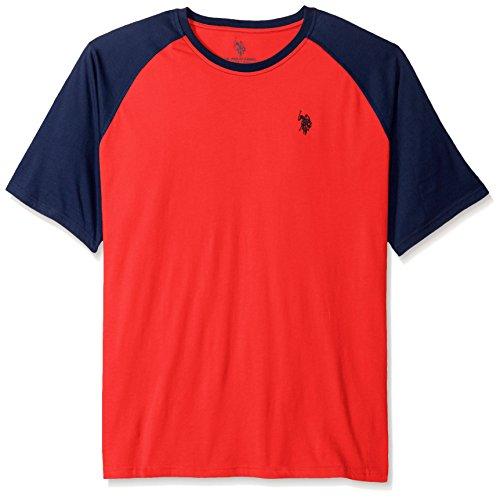 U.S. Polo Assn. T-shirt pour homme - rouge - 2X