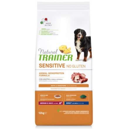 Trainer Natural Sensitive No Gluten Medium & Maxi Adult con Anatra 12 kg