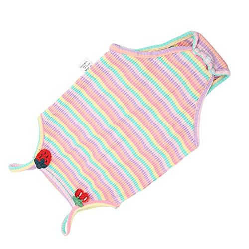 Body Para Beb, Mono Para Beb, Absorbente De Sudor, Fcil De Usar, Transpirable Para Fotografa En Verano(Polvo de cereza)