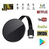 IFOR Adaptador HDMI Dongle Airplay Stick De TV WiFi 5G Miracast para Google Chromecast 3 Netflix Youtube Stick De TV Android Espejo Caja Ultra,5ghz