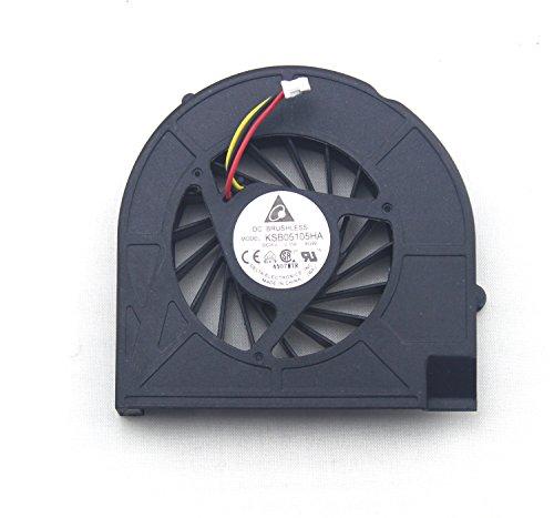 chnasawe portátil de CPU ventilador de refrigeración para HP G60G70Compaq Presario CQ60CQ70Series (no compatible con el portátil con sistemas DISCRETOS)
