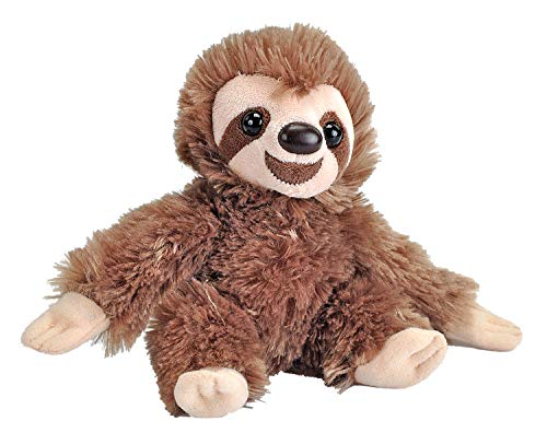 Wild Republic Sloth Plush Hug Em' (7-inch)