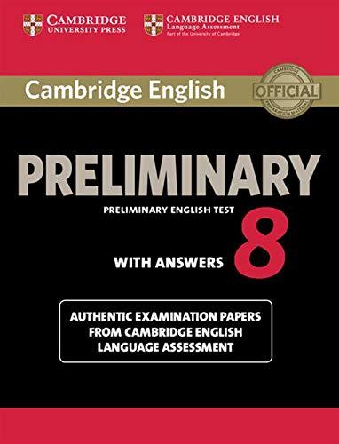 Cambridge english preliminary. Student's book....