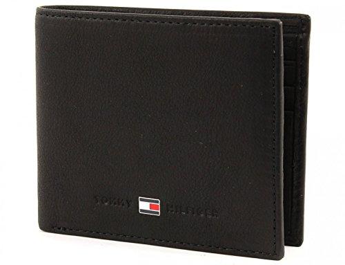 Tommy Hilfiger Johnson Mini CC Wallet, Portafoglio Uomo, Nero (Schwarz (Black), 11x9x2
