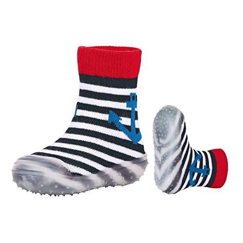 Sterntaler Jungen Adventure-Socks Anker Aqua Schuhe, Blau (Marine 300), 19-20 EU