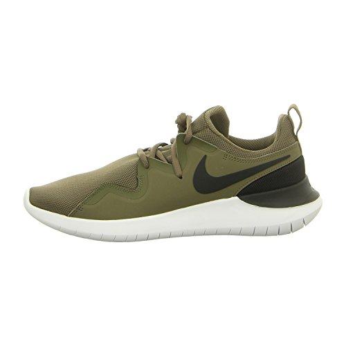 Nike Herren Freizeit-Schuh T Sneaker, Grün (Medium Olive/Black-W 200), 44.5 EU