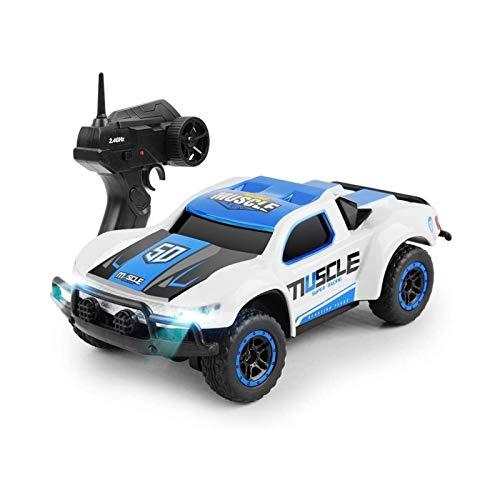 ELXSZJ XTZJ RC Cars Remote Control Car for Boys 2.4 GHz Carreras de Alta Velocidad, 1:16 RC Trucks 4x4 Offroad con Faros, Roca eléctrica Crawler Toy Coche de Juguete para niños Adultos Chicas