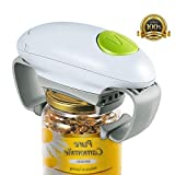 Electric Jar Opener, Restaurant Can Opener, Smooth Edge Automatic Jar Opener for Individuals, Arthritis and Housewife, Bottle Opener for Arthritic Hands