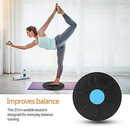 FECAMOS Tabla de Equilibrio Tabla de Entrenamiento Antideslizante para Mejorar el Equilibrio, para Yoga